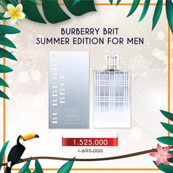 Nước hoa Burberry Brit Summer Edition Nam