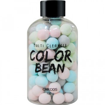 Viên tắm trắng CNKCOS Bean Series Multi Cleanser Color Bean Xanh