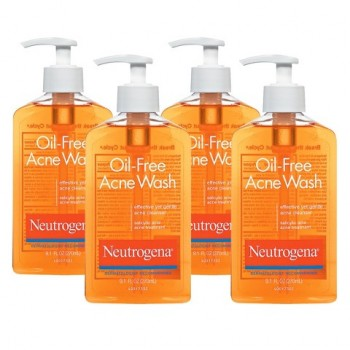 Sữa Rửa Mặt Trị Mụn Neutrogena Oil-Free Acne Wash Micro Clear 269ml