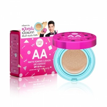 Phấn nước Cathy Doll AA Matte Powder Cushion Oil Control SPF50 PA+++ 15g