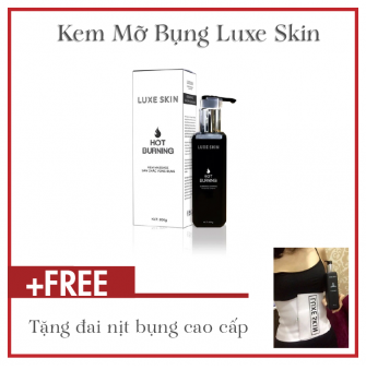 Kem massage tan mỡ bụng Luxe Skin