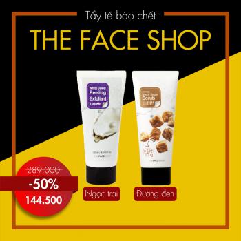 Tẩy tế bào chết đường đen The Face Shop