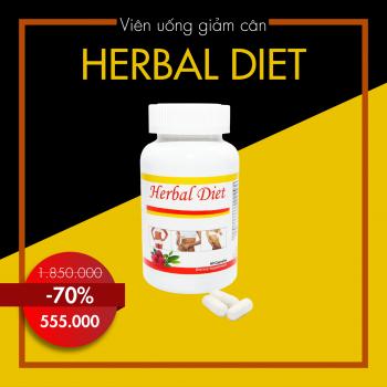 Viên giảm cân vùng bụng HERBAL DIET