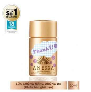 Sữa chống nắng Anessa phiên bản đặc biệt THANK YOU - 20ml