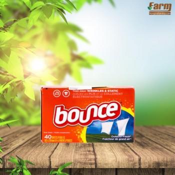 Giấy xả làm mềm thơm vải Bounce Outdoor Fresh (40 tờ)