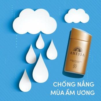 Sữa Chống Nắng Anessa Dịu Nhẹ Dành Cho Da Nhạy Cảm SPF50+/PA++++ 60ml