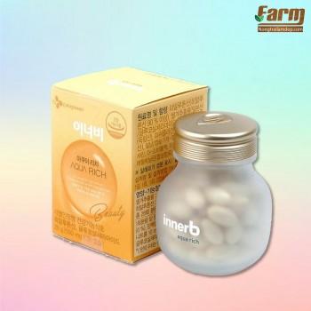 Viên uống cấp nước, collagen Aqua Rich Korea
