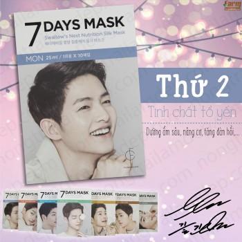 Mặt Nạ Giấy Dưỡng Trắng 7 Days Mask