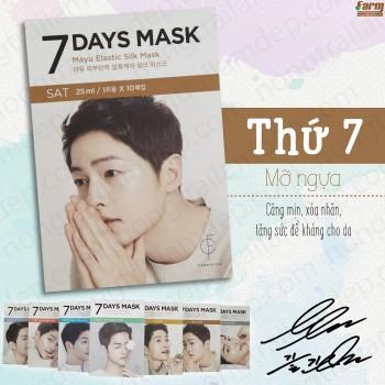Mặt Nạ Giấy Dưỡng Trắng 7 Days Mask (Thứ 7)