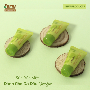 Sữa Rửa Mặt Dành Cho Da Dầu Innisfree Apple Juicy Deep Cleansing Foam 15ml