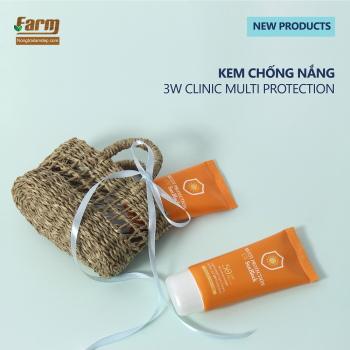 Kem chống nắng 3W Clinic MultiI Protection uv sunbolck SPF 50 PA+++ (70ML)
