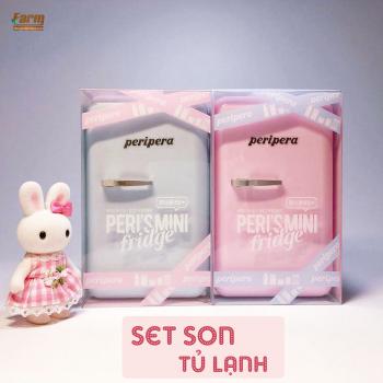 [Limited 2018] Set Son Tủ Lạnh Xinh Xắn Cho Mùa Hè Mát Mẻ Peripera Peri's Fridge
