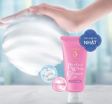 Sữa Rửa Mặt Collagen Senka 120g