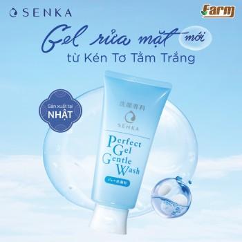 Gel Rửa Mặt Dưỡng Ẩm Sâu Senka Perfect Gentle Wash