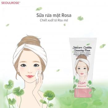 Sữa Rửa Mặt Chiết Xuất Rau Má Và Hoa Cúc Rosa