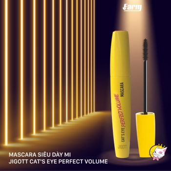 Mascara Siêu Dày Mi Jigott Cat's Eye Perfect Volume
