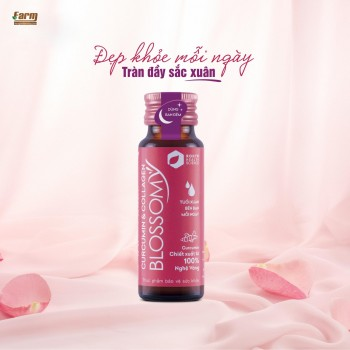 Nước Uống Đẹp Da Collagen Blossomy