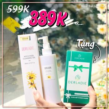 Gel Rửa Mặt Sáng Da Ngừa Mụn Derladie 200ml