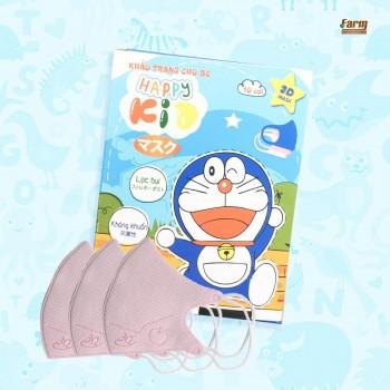 Khẩu Trang Y Tế Em Bé 3D Doremon Happy Kid