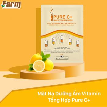 Mặt Nạ Dưỡng Ẩm Vitamin Tổng Hợp Pure C+