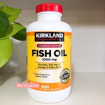 Viên Uống Dầu Cá Kirkland 1000mg