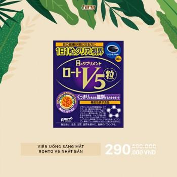 Viên Uống Sáng Mắt Rohto V5 Nhật Bản