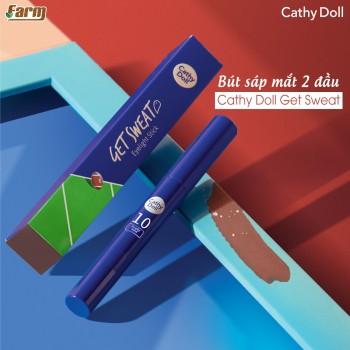 Bút Sáp Mắt 2 Đầu Cathy Doll Get Sweat