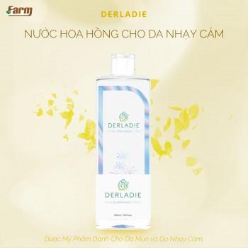 Nước Hoa Hồng Derladie Cho Da Nhạy Cảm 500 ml