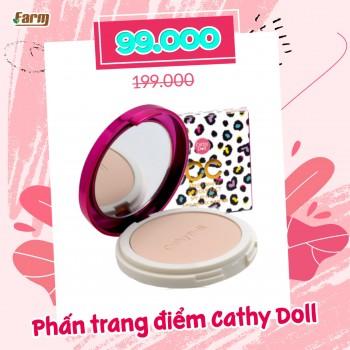 Phấn Phủ Da Beo Siêu Mịn Cathy Doll