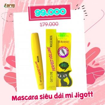 Mascara Siêu Dày Mi Jigott Cat's Eye Perfect Volume