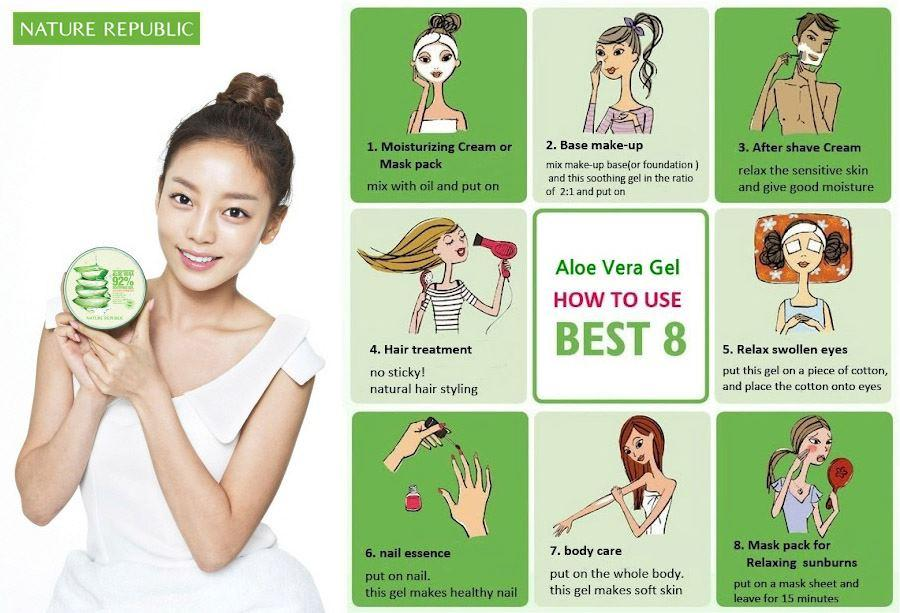 Gel lo hoi Nature Republic Aloe Vera