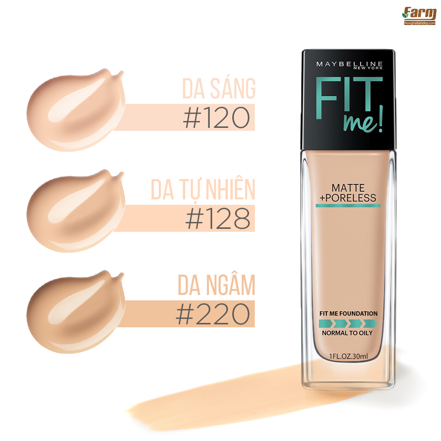 Kem Nền Fit Me Foundation 5