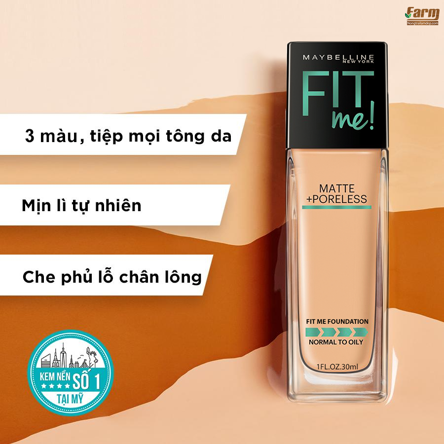 Kem Nền Fit Me Foundation 2