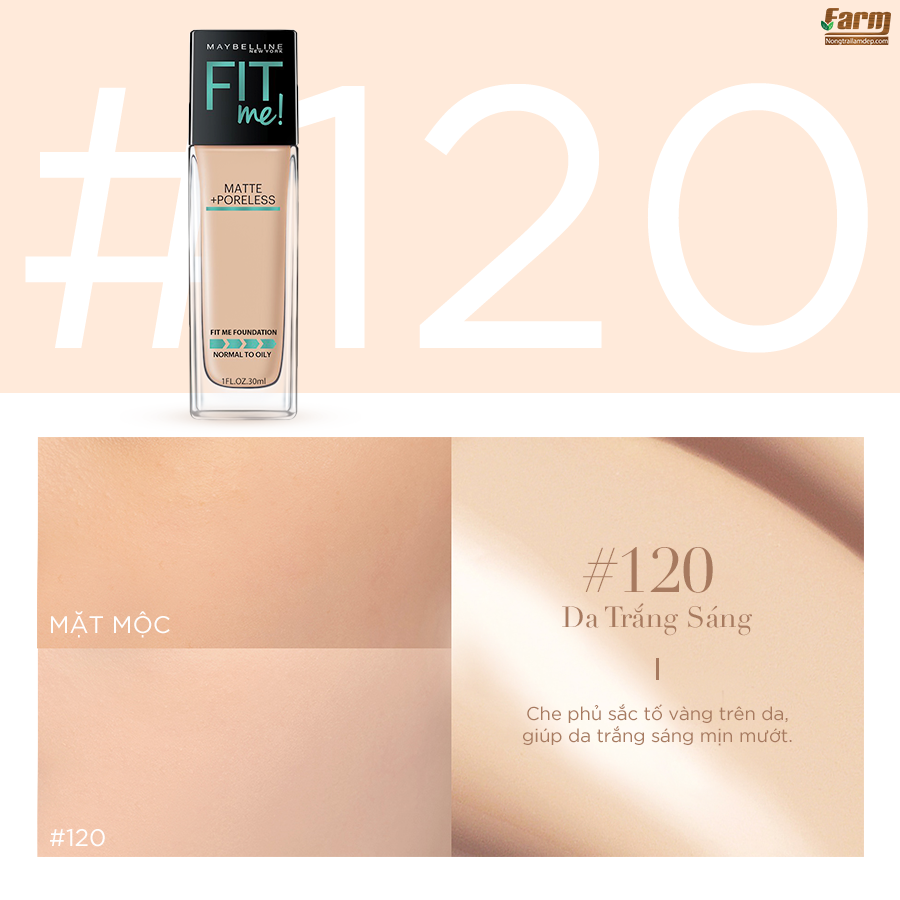 Kem Nền Fit Me Foundation 6