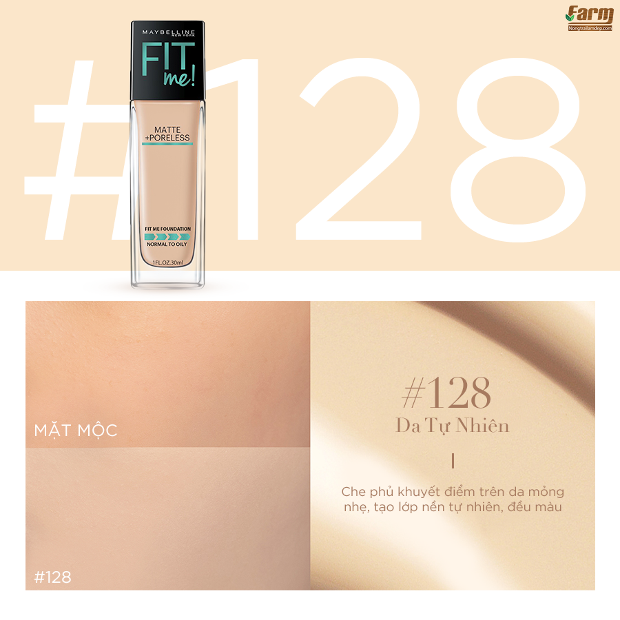 Kem Nền Fit Me Foundation 7